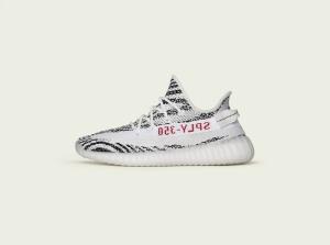 Yeezy BOOST 350 V2 White/ Zebra