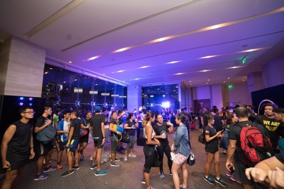 Adidas Runners Manila afterparty @ ASCOTT BGC