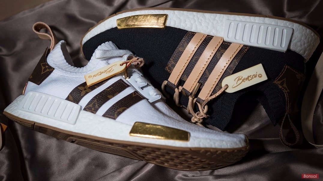 0c12e5bbc Adidas NMD R1s gets Louis Vuitton treatment custom-made for Craig ...