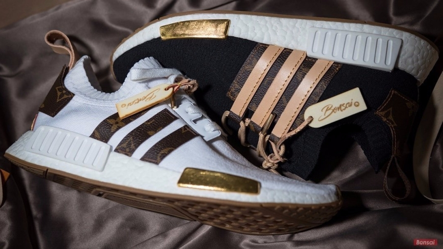 Custom NMD R1 x Louis Vuitton for Craig David