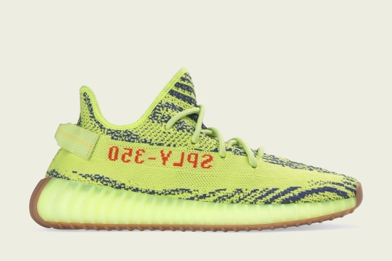 YEEZYBOOST 350 V2 Semi Frozen Yellow