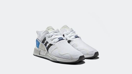 EQT CuSHION ADV blue pack in White